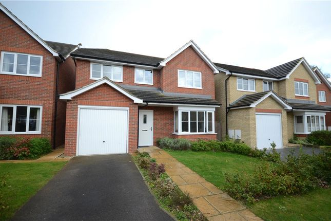 Thumbnail Detached house for sale in Hazlewood Drive, Mytchett, Camberley