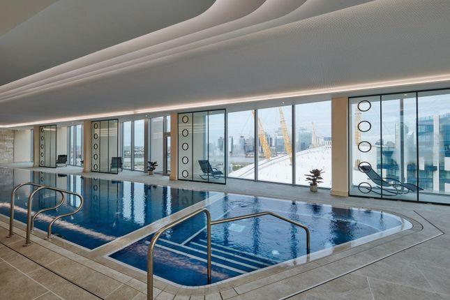 Swimming Pool of No.1, Upper Riverside, Cutter Lane, Greenwich Peninsula SE10