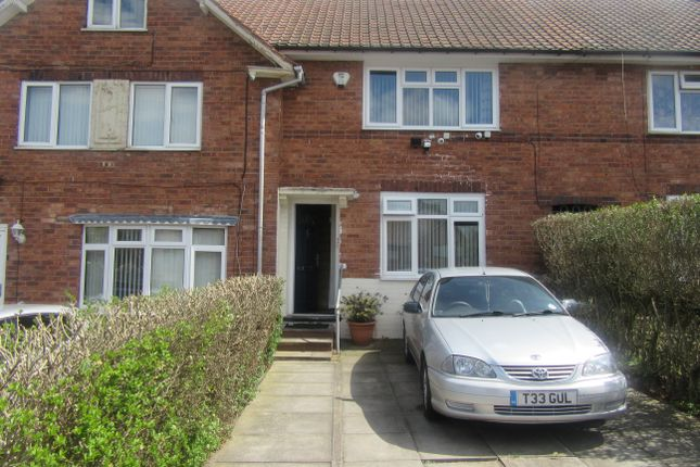 Thumbnail Terraced house to rent in Botha Road, Birmingham
