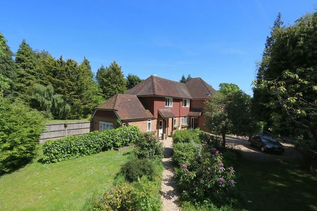 Thumbnail Detached house for sale in Priorsfield Road, Hurtmore, Godalming