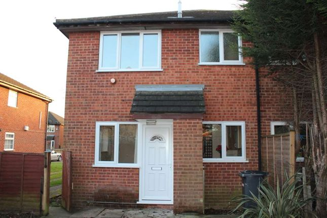 Thumbnail Semi-detached house to rent in Longhurst Close, Leicester
