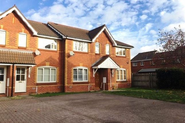 Thumbnail Terraced house to rent in Bronte Close, Rugby