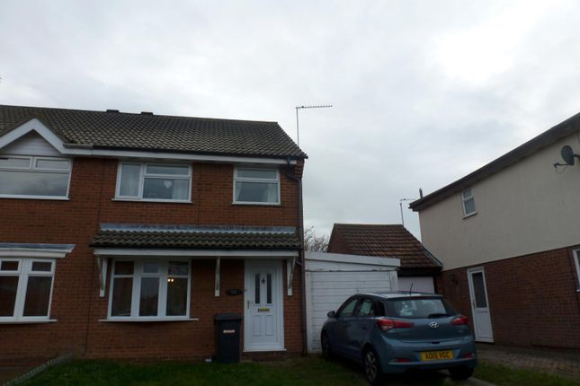 Thumbnail Semi-detached house to rent in Portsch Close, Carlton Colville, Lowestoft