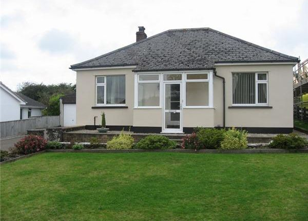 Thumbnail Detached bungalow to rent in Darite, Liskeard