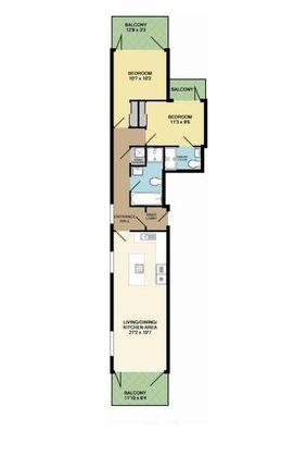 Floorplan of Chalkwell Esplanade, Westcliff-On-Sea SS0