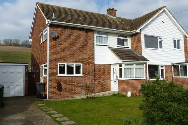 Thumbnail Semi-detached house for sale in Stratford Drive, Wooburn Green, High Wycombe