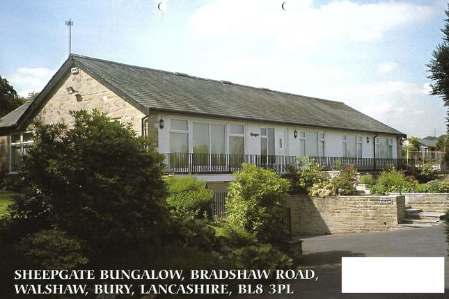 Thumbnail Detached house for sale in Bradshaw Road, Bury, Lancashire