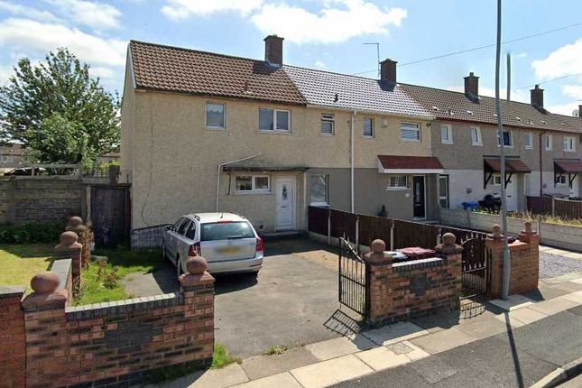 Thumbnail End terrace house to rent in Stanton Crescent, Kirkby, Liverpool