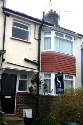Thumbnail Terraced house to rent in Baden Road, Brighton