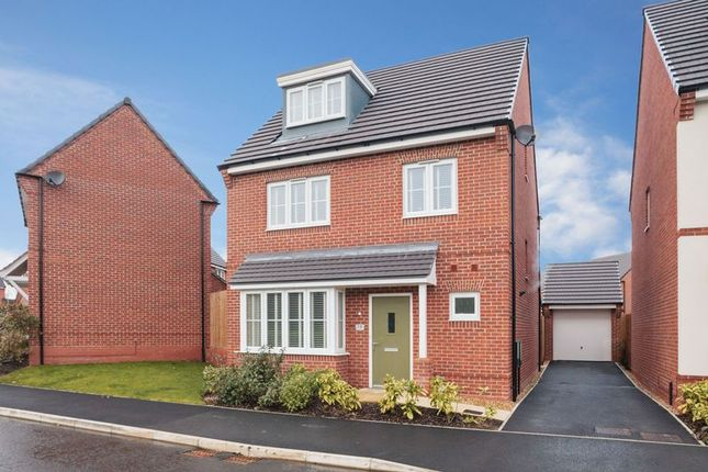 Thumbnail Detached house for sale in Volans Drive, Westbrook, Warrington