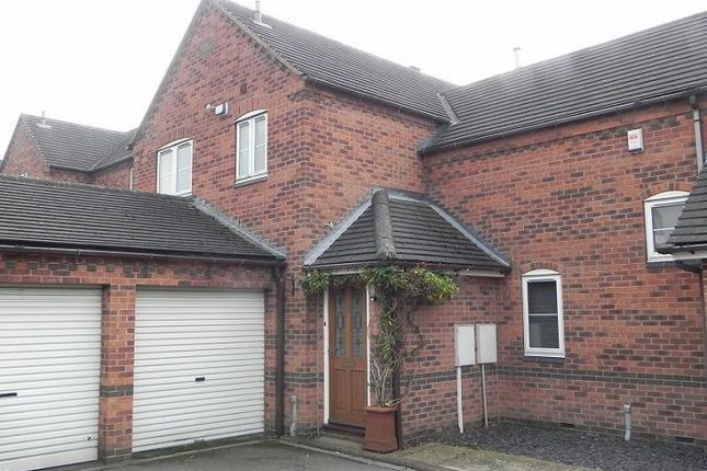 Thumbnail Town house to rent in 11 Daisy Lane, Overseal, Derbyshire