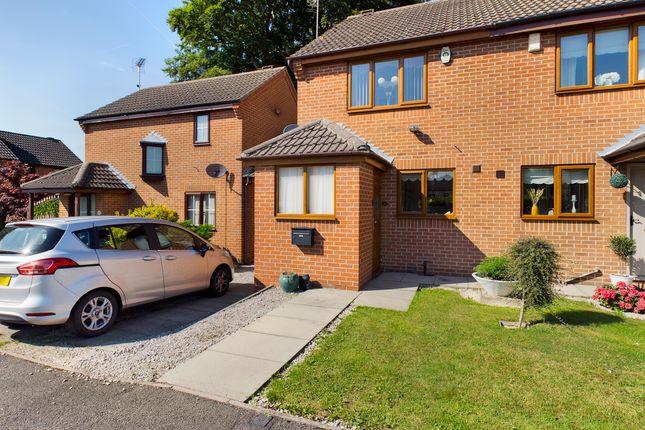 Thumbnail Semi-detached house for sale in Hawthornes Avenue, South Normanton