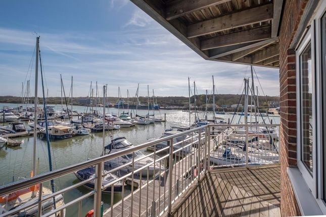Thumbnail Flat for sale in The Octagon, East Cowes Marina, Britannia Way, East Cowes, Isle Of Wight