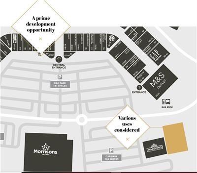 Thumbnail Land to let in Dalton Park Outlet Centre (Development Site), Church Street, Murton, Seaham, Durham
