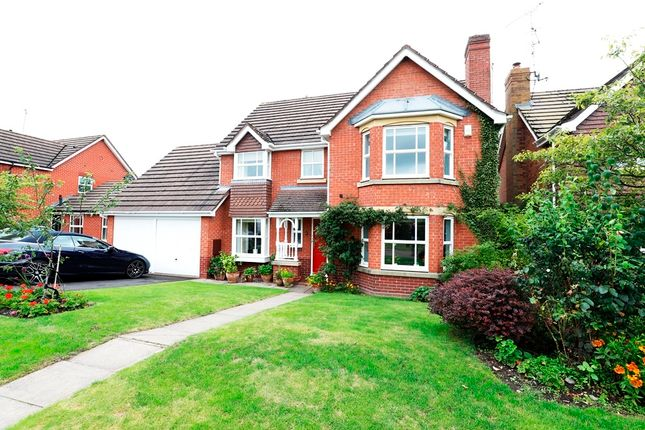 Thumbnail Detached house to rent in Teal Close, Baldwins Gate, Newcastle-Under-Lyme