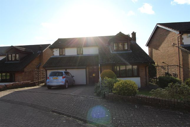 Thumbnail Detached house for sale in Oakfield Gardens, Machen, Caerphilly