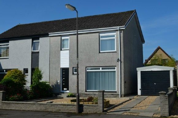 Thumbnail Semi-detached house to rent in Aitchison Drive, Larbert