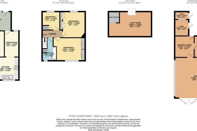 Floorplan of Chase Road, Brownhills, Walsall WS8