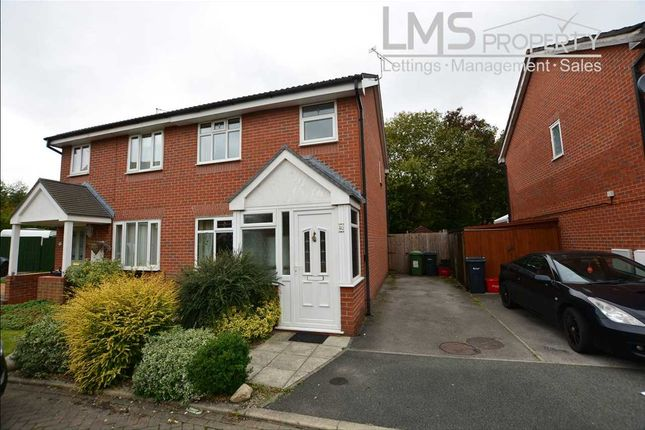 Thumbnail Semi-detached house to rent in The Maples, Winsford