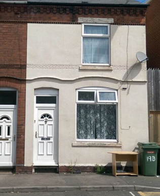 Thumbnail Terraced house to rent in Bank Street, Walsall, Westmidlands