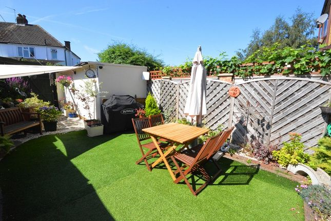 Garden of Mansfield Road, Chessington, Surrey KT9