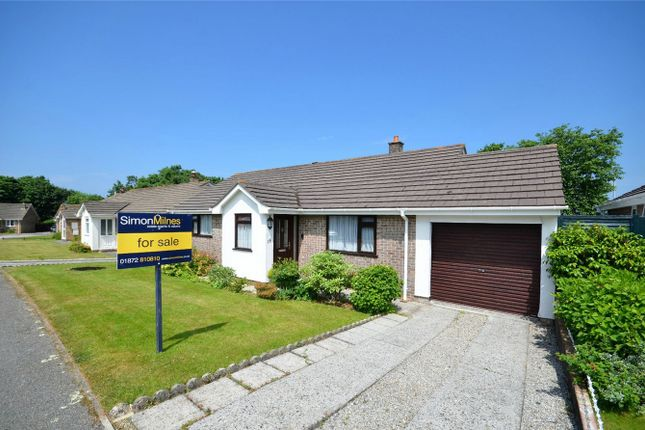 Thumbnail Detached bungalow for sale in Tregavethan View, Threemilestone, Truro, Cornwall