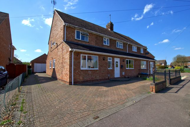 Thumbnail Semi-detached house for sale in Churchfield Avenue, Sawston, Cambridge
