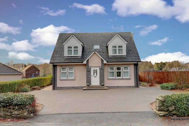 Thumbnail 4 bed detached house for sale in Millcroft Road, Minnigaff, Newton Stewart