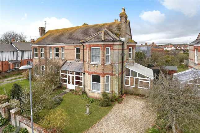 Thumbnail Semi-detached house for sale in Mount Pleasant Avenue North, Weymouth, Dorset