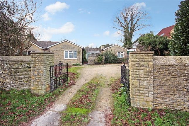 Thumbnail Detached bungalow for sale in Woodstock Road, Witney