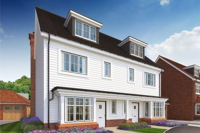 Thumbnail Semi-detached house for sale in Hitches Lane, Fleet, Hampshire