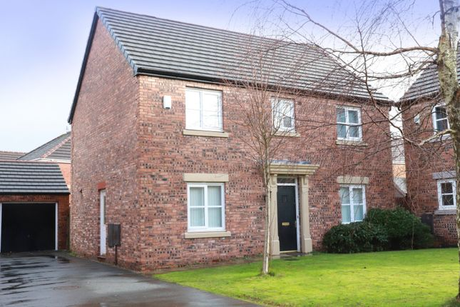 Thumbnail Detached house for sale in Kerr Close, Kirkby, Liverpool