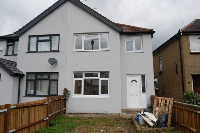 Thumbnail Semi-detached house to rent in Elers Road, Hayes