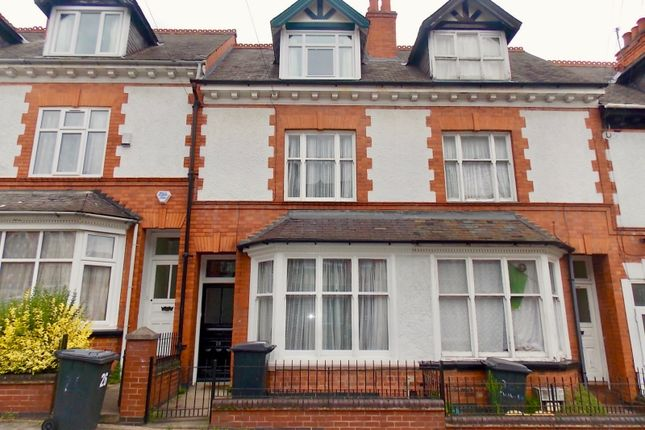 Thumbnail Terraced house to rent in Chaucer Street, Leicester