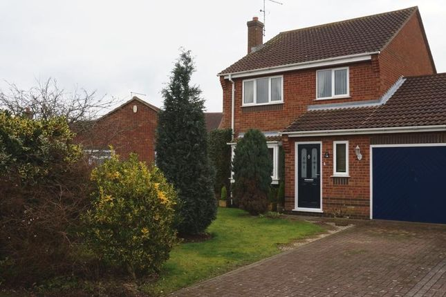 Thumbnail Terraced house for sale in Gull Way, Whittlesey