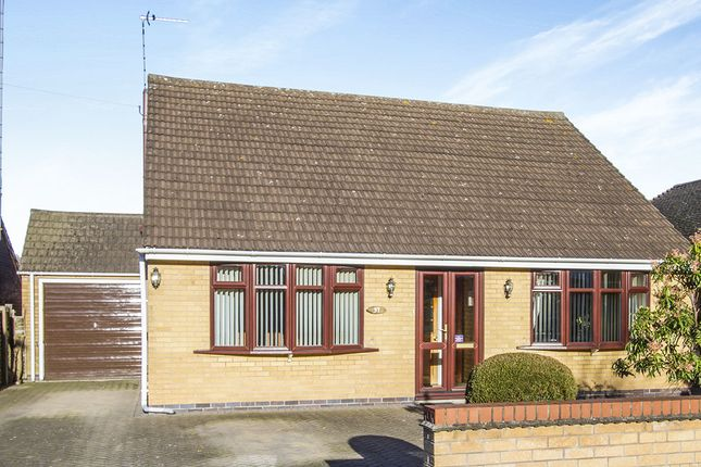 Thumbnail Bungalow for sale in Garendon Green, Loughborough
