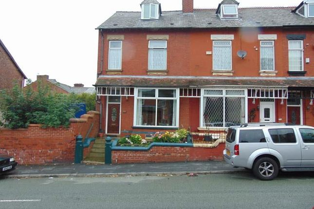 Thumbnail End terrace house for sale in 124 Werneth Hall Road, Coppice, Oldham
