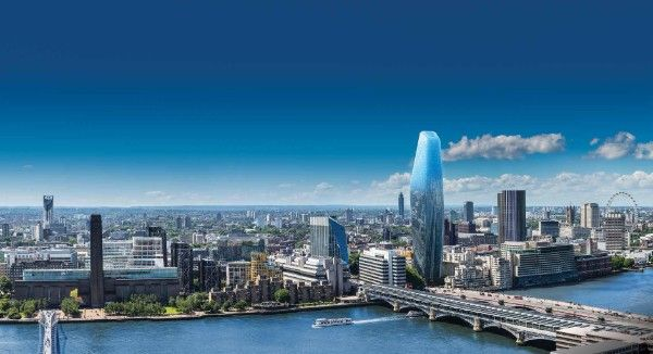 Thumbnail Flat for sale in One Blackfriars Apartments, 1 Blackfriars, London