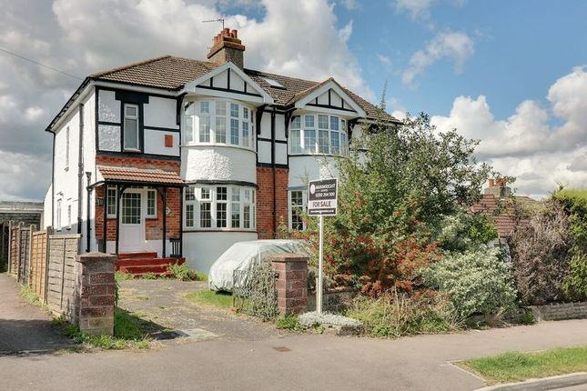 Thumbnail Semi-detached house for sale in Fir Copse Road, Purbrook, Waterlooville