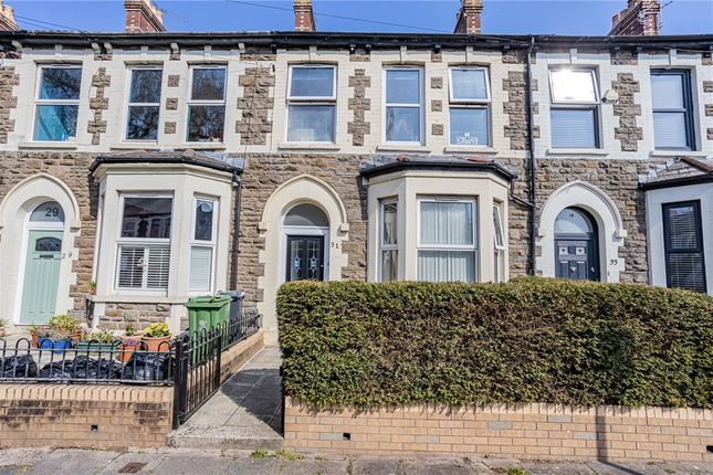 Thumbnail Terraced house for sale in Rawden Place, Riverside, Cardiff