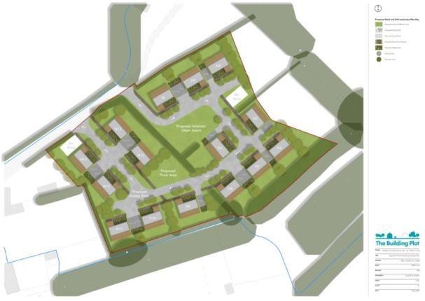 Site Plans of Tal Y Bont, Conwy, North Wales LL32