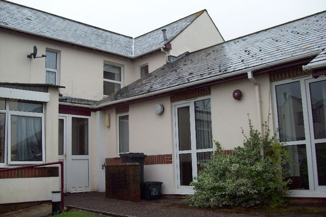 Thumbnail Terraced bungalow to rent in Lyme Road, Axminster