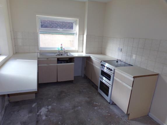 Kitchen of Makin Street, Liverpool, Merseyside L4