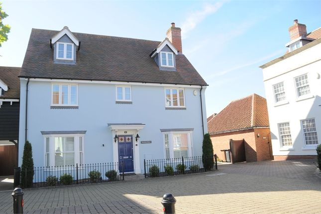 Thumbnail Detached house for sale in Post Office Road, Broomfield, Chelmsford, Essex