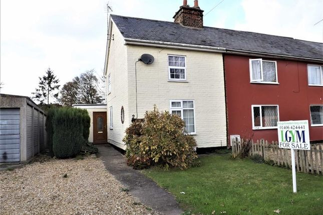 2 bed semi-detached house for sale in Hocklesgate, Fleet, Holbeach, Spalding
