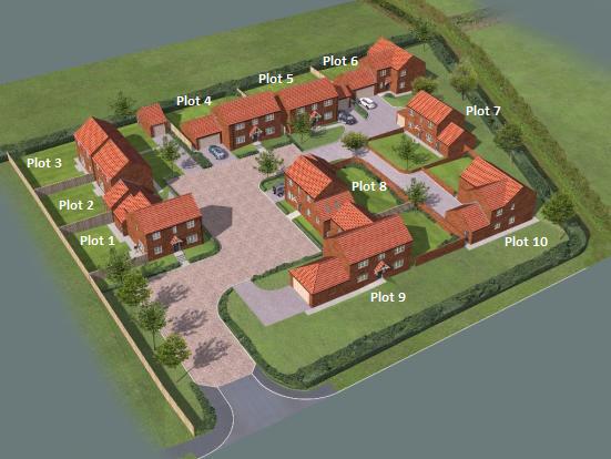 Thumbnail Detached house for sale in Ashfield Court, Everton Sluice Lane, Everton, Doncaster