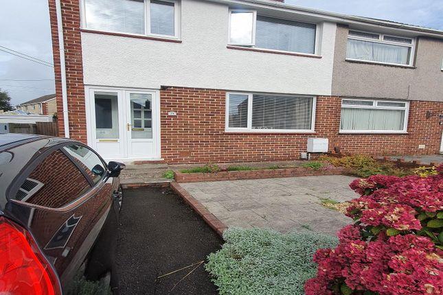 Thumbnail Semi-detached house to rent in Dyffryn Road, Gorseinon, Swansea