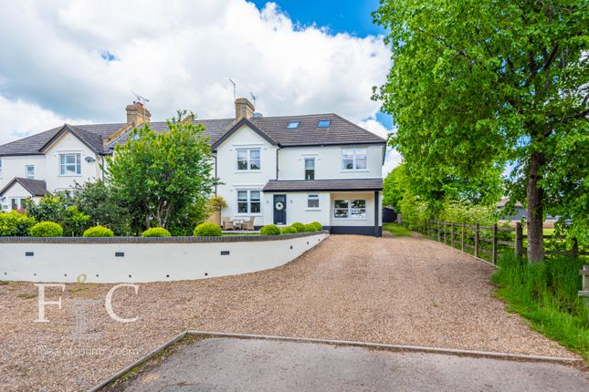 Thumbnail End terrace house for sale in Beaumont Road, Broxbourne, Hertfordshire