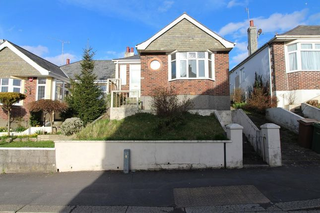 Thumbnail Semi-detached bungalow for sale in Weston Park Road, Peverell, Plymouth