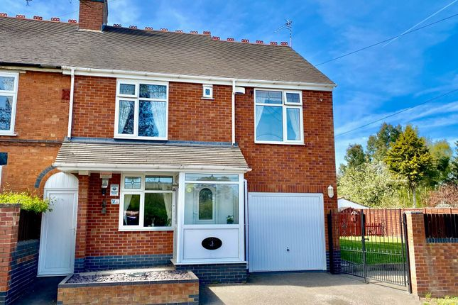 4 bed semi-detached house for sale in Atherstone Road, Hartshill, Nuneaton CV10